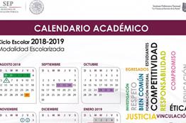 Calendario Politecnico.Presenta Ipn Calendarios Academicos Para El Ciclo Escolar