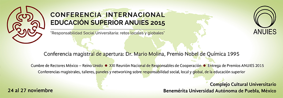 Conferencia Internacional Educación Superior ANUIES 2015